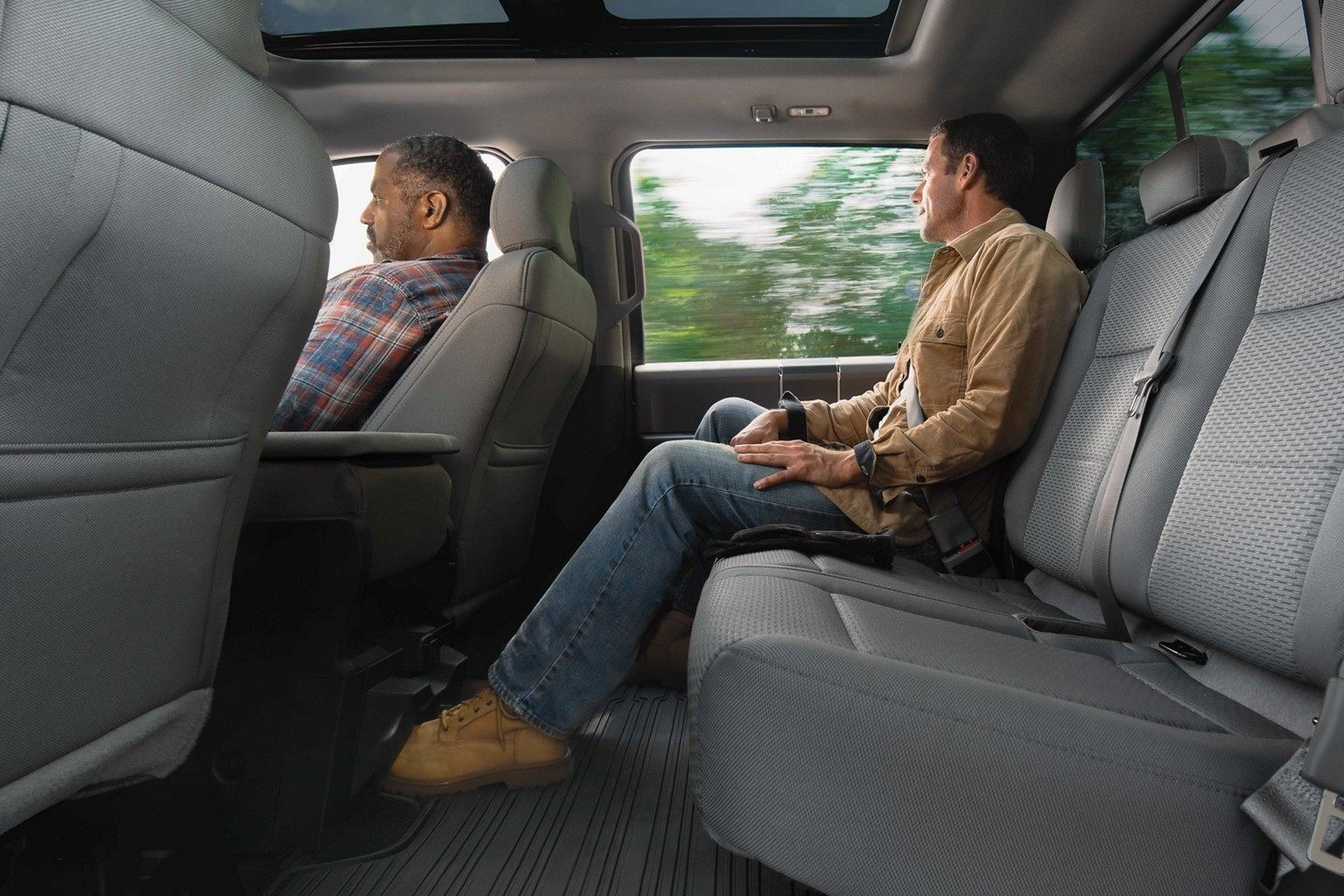 Spacious Cab of the 2019 Ford F-150