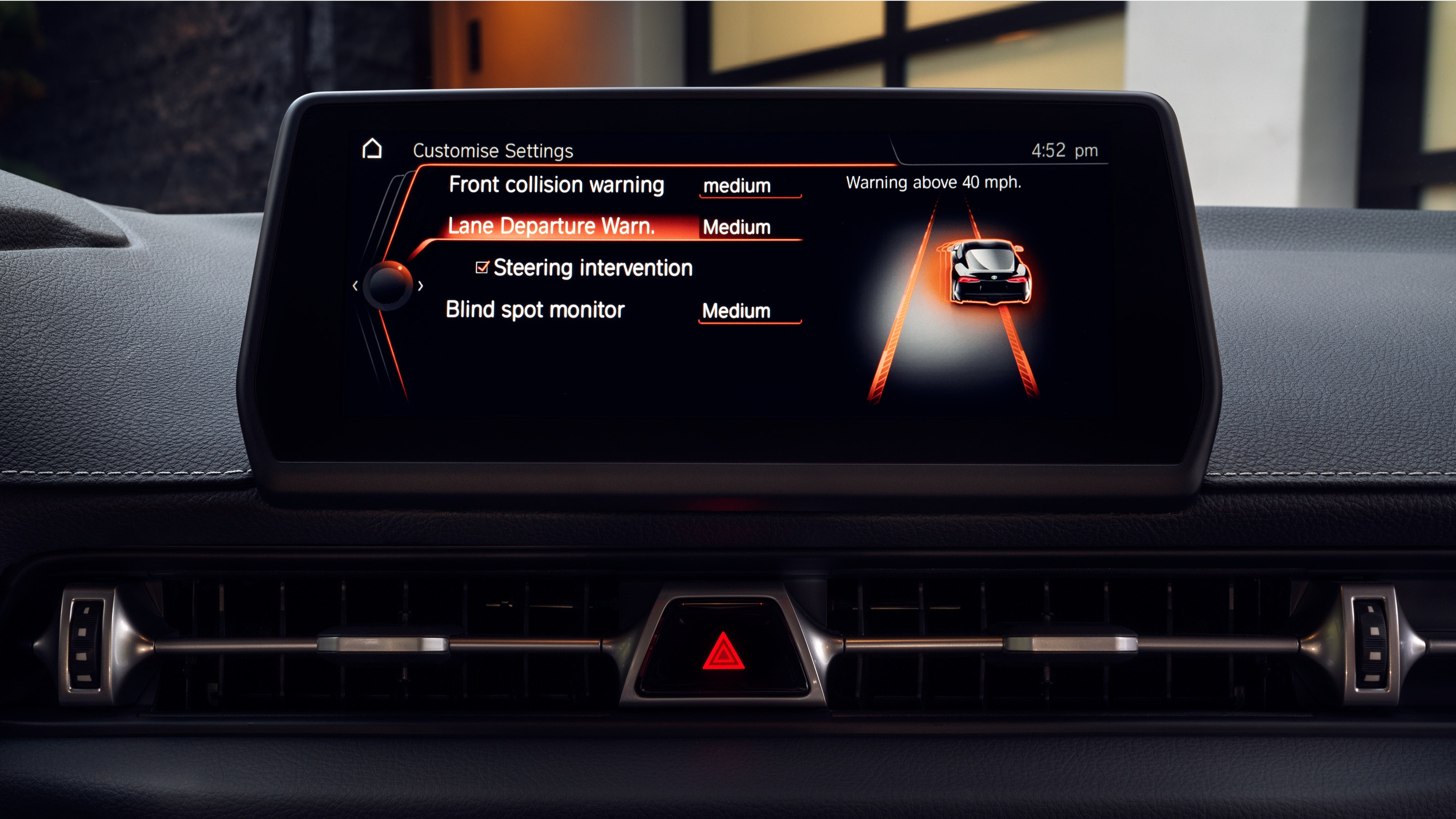 2020 Toyota Supra Safety Features