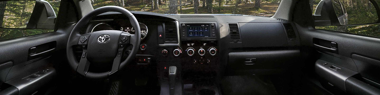 2020 Toyota Sequoia Dashboard