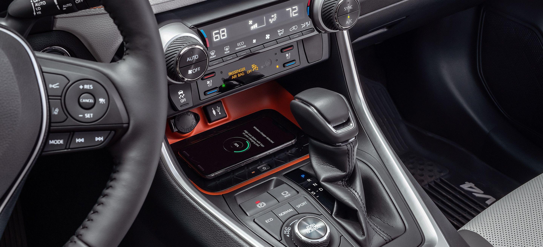 2019 Toyota RAV4 Console