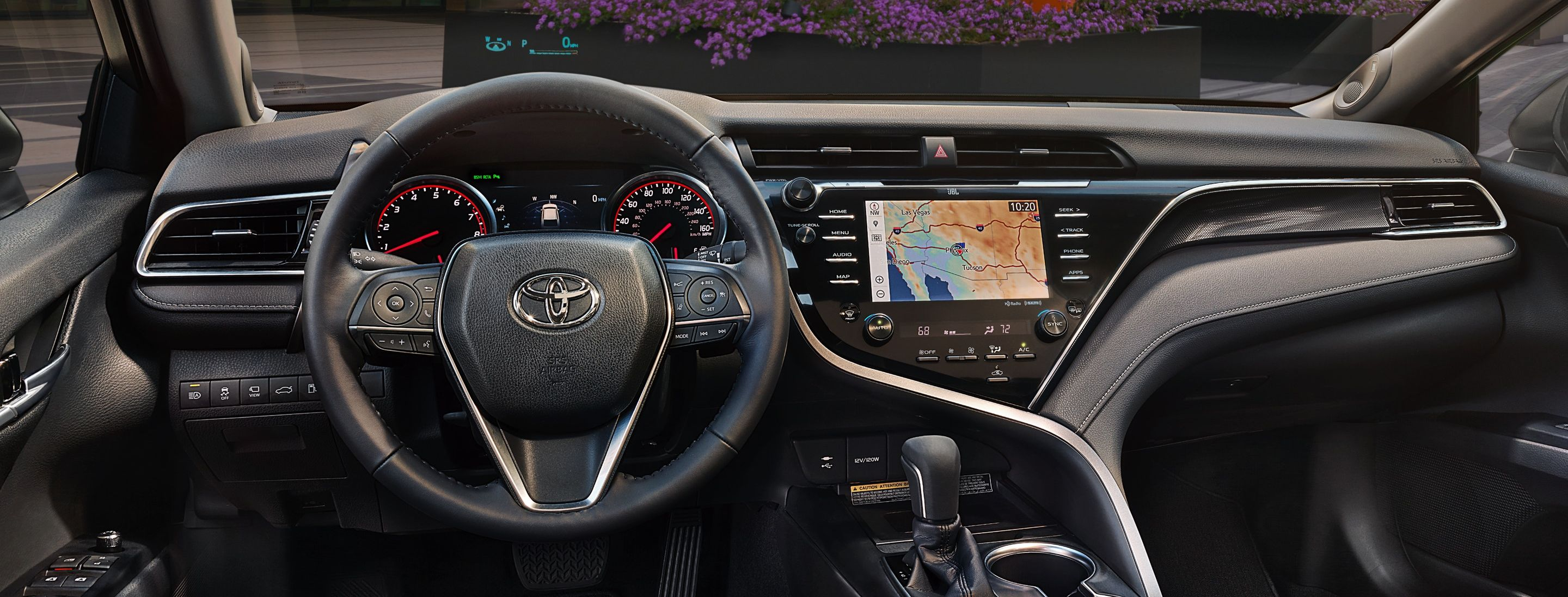 The Well-Appointed Dashboard of the 2019 Camry