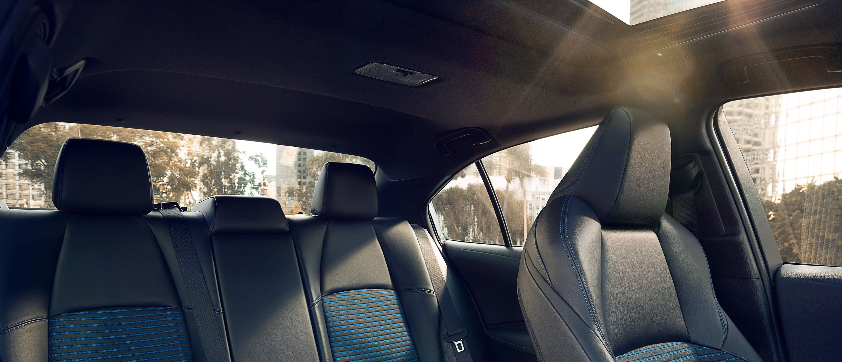The Spacious Cabin of the 2020 Corolla