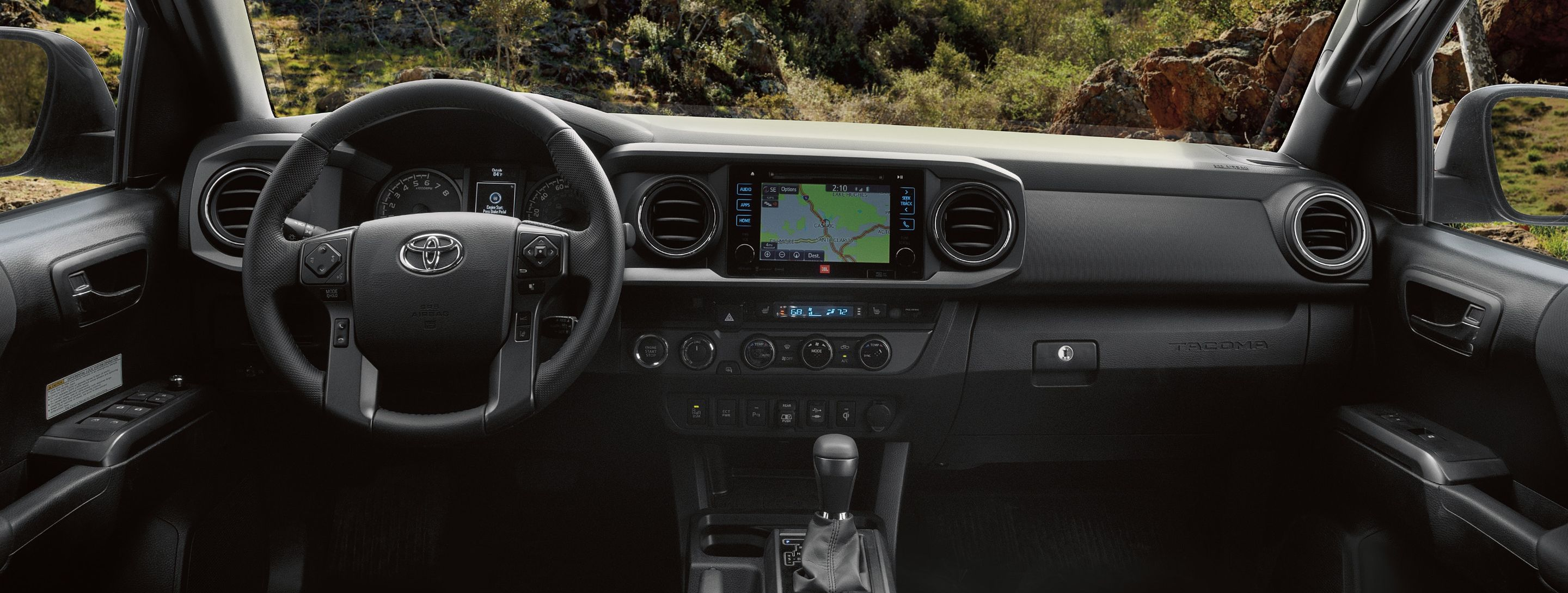 2019 Tacoma Dashboard