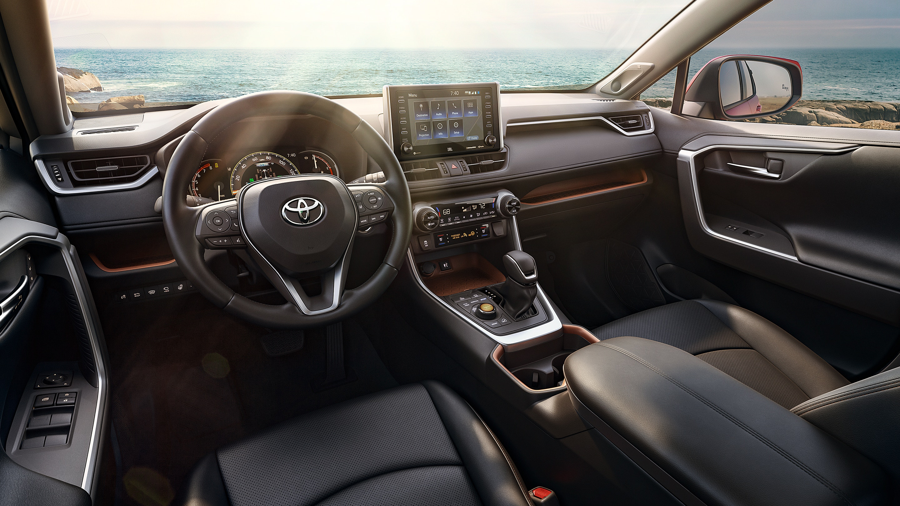 2019 RAV4 Dashboard