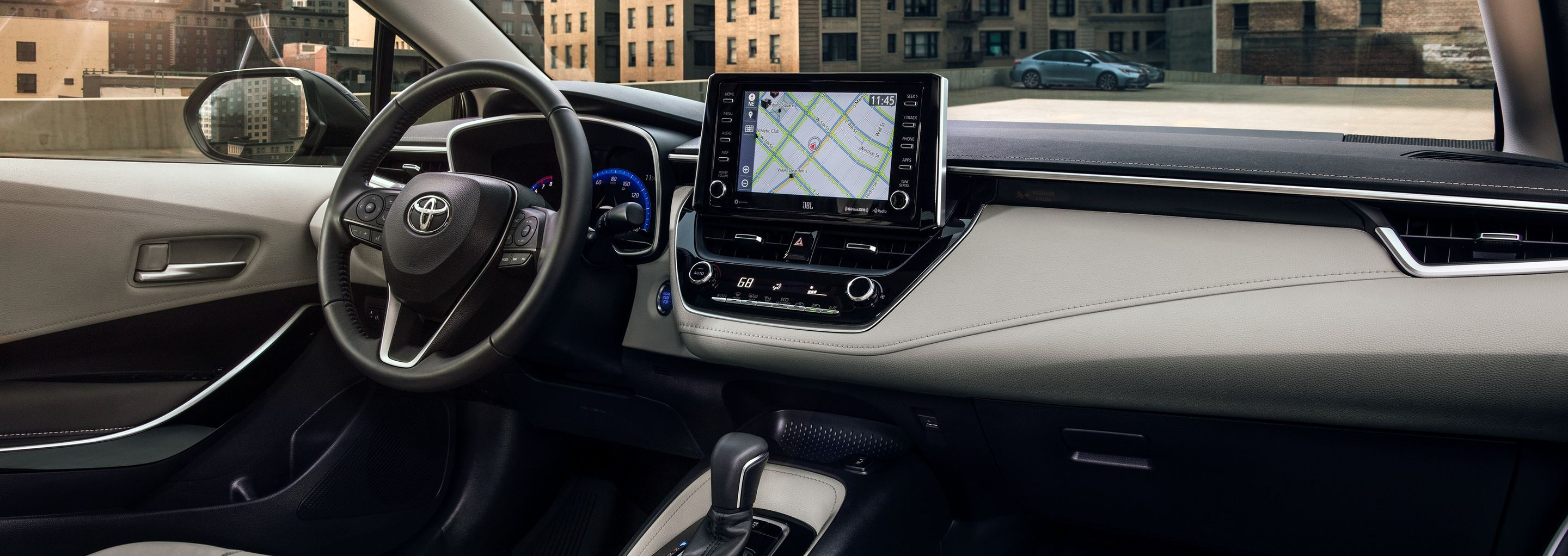 2019 Corolla Dashboard