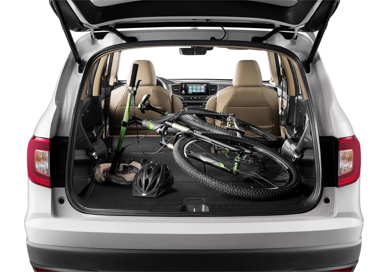 La Honda Pilot 2019 te ofrece mucho espacio de carga
