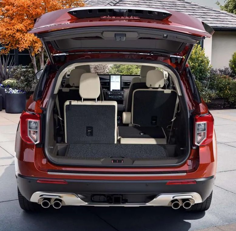 Expansive Cargo Capacity in the 2020 Explorer