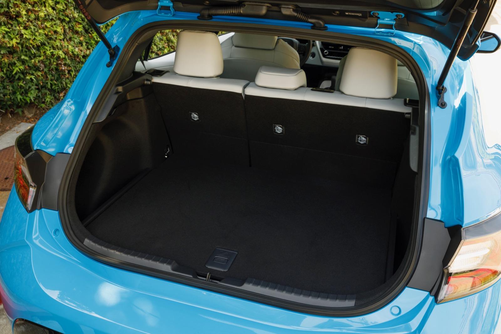 Hatchback Cargo Space
