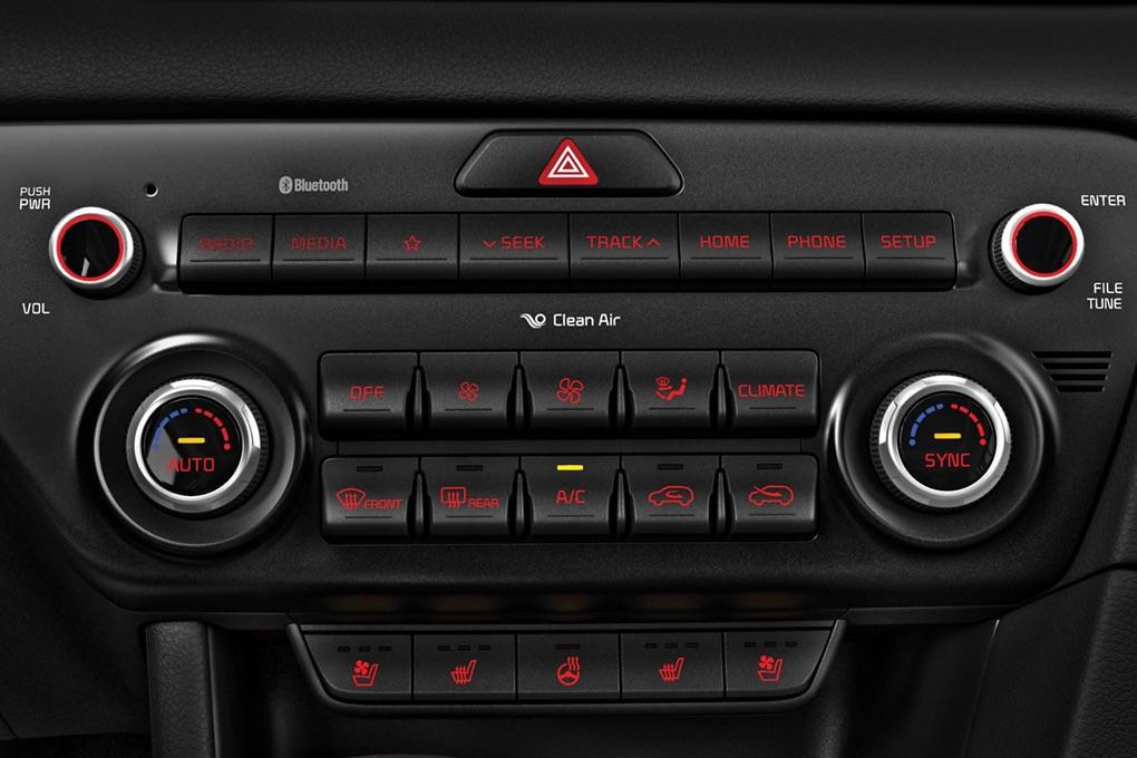 Control climático automático doble zona de la Kia Sportage 2020