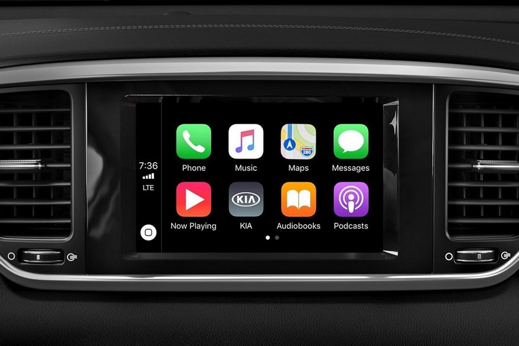 Apple CarPlay® en la Kia Sportage 2020