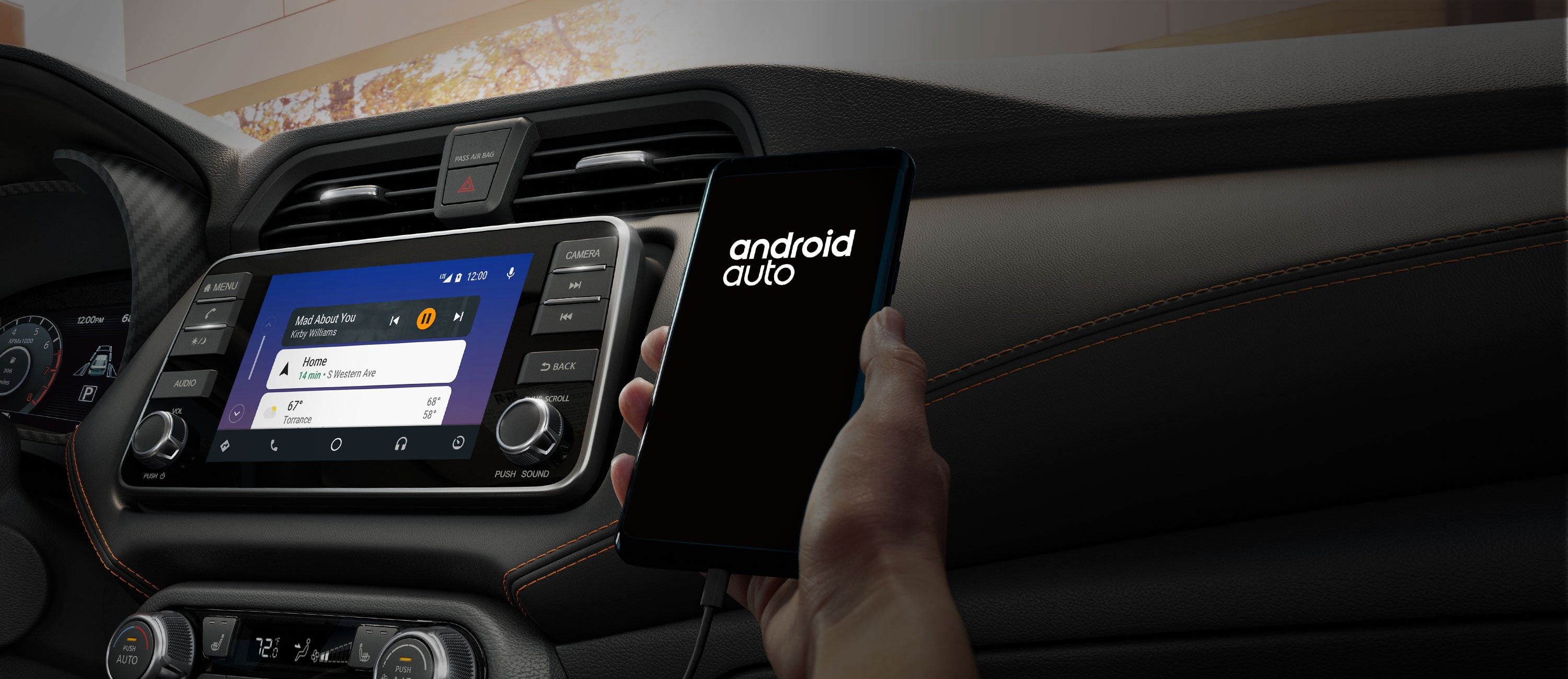 2020 Nissan Versa Connected Android Auto