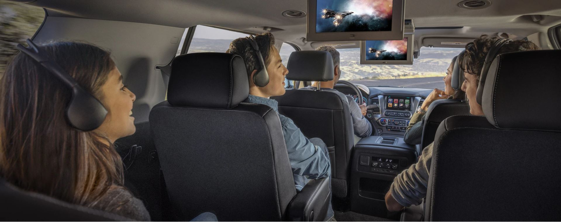 Entertainment Options in the 2020 Tahoe