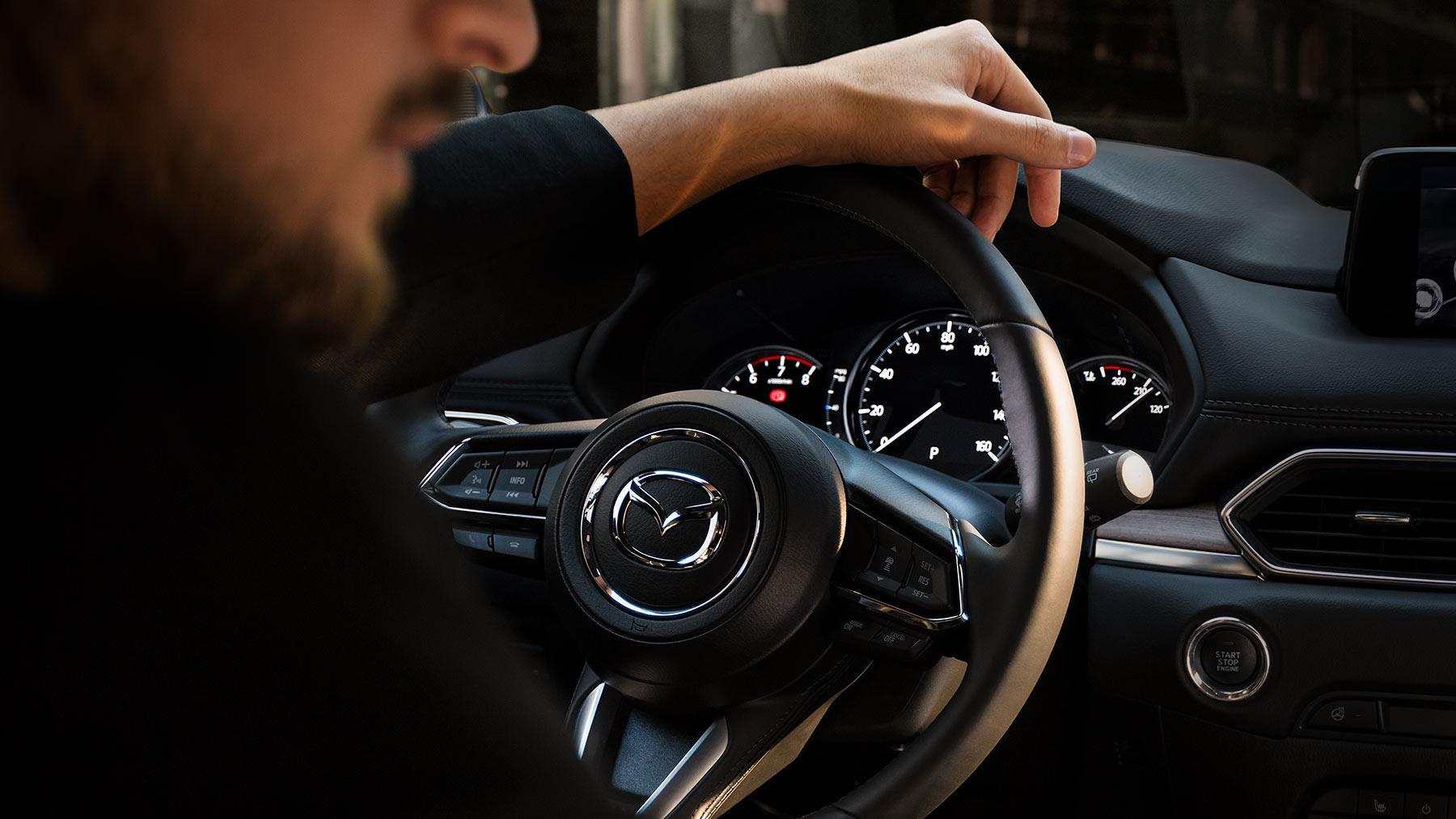 Steering Wheel of the 2019 Mazda CX-5