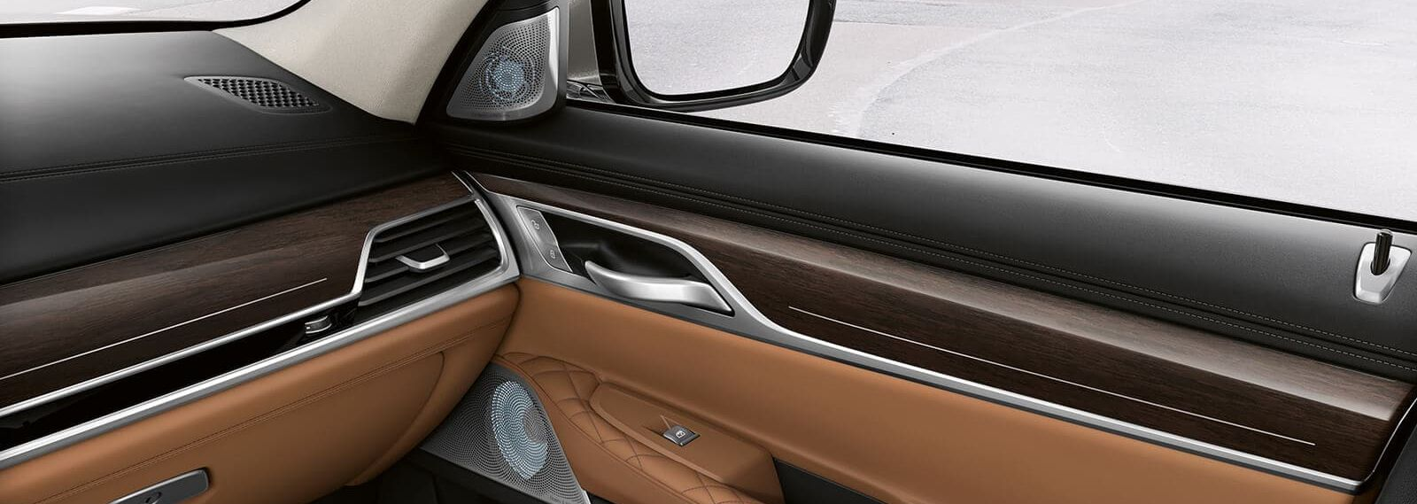 Refined Cabin of the 2020 BMW 7 Series