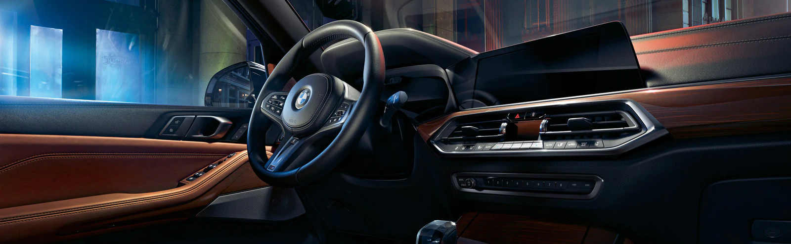Dashboard of the 2020 BMW X5