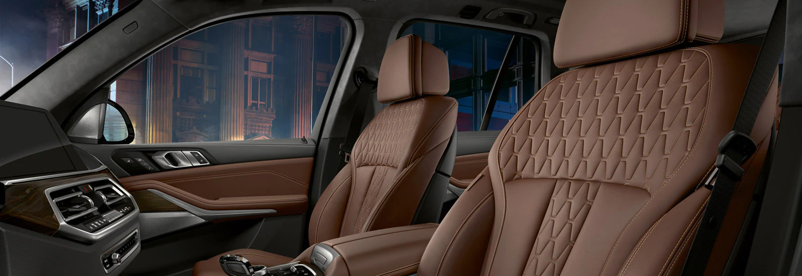 Front-Row Seats in the 2020 BMW X5