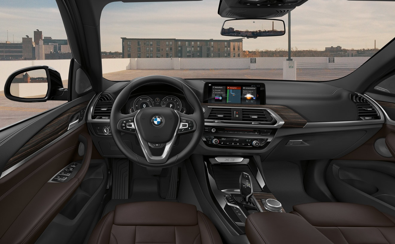 Tech-Loaded Cabin of the 2019 BMW X3