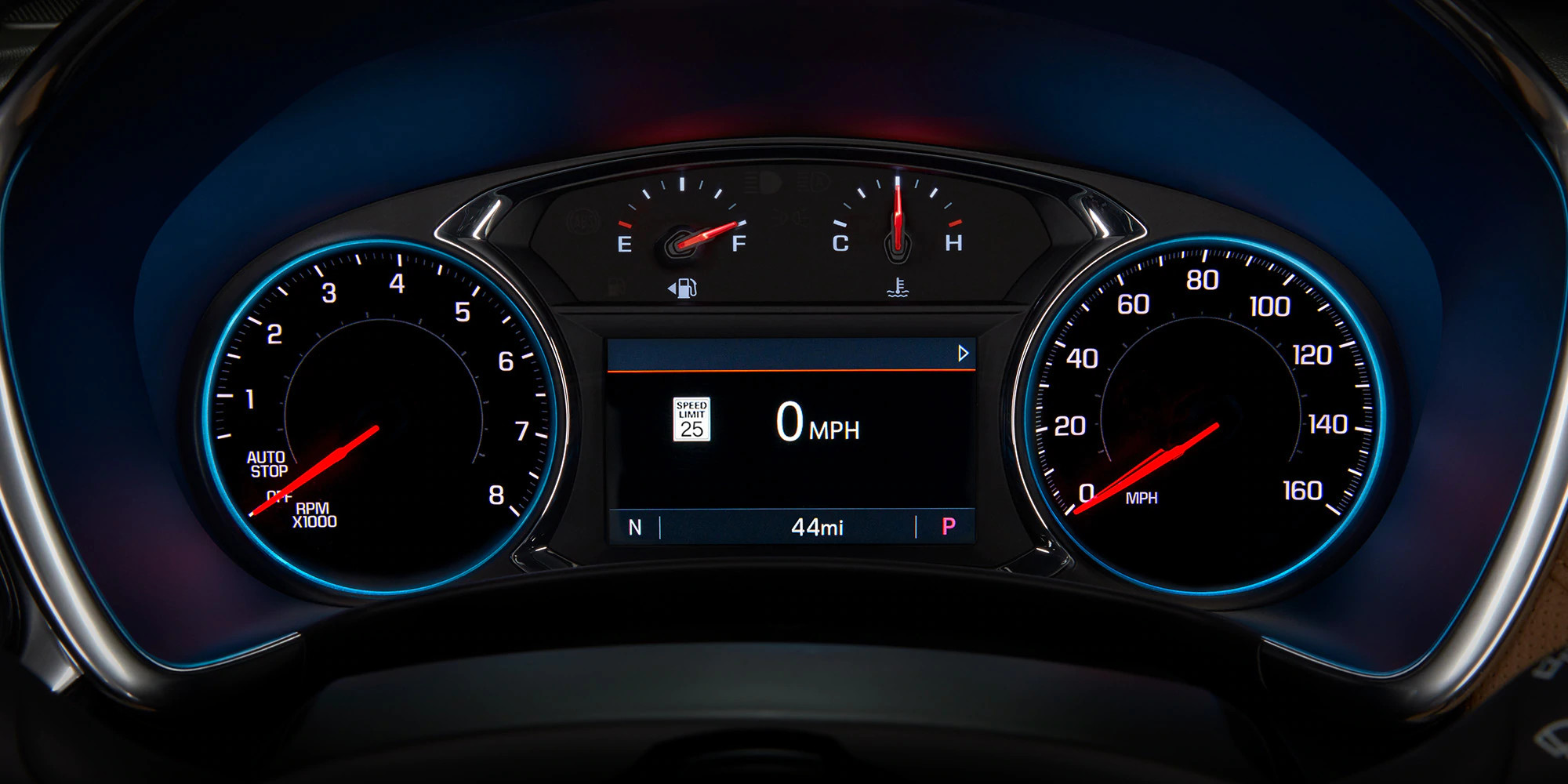 Instrument Panel in the 2020 Chevrolet Equinox