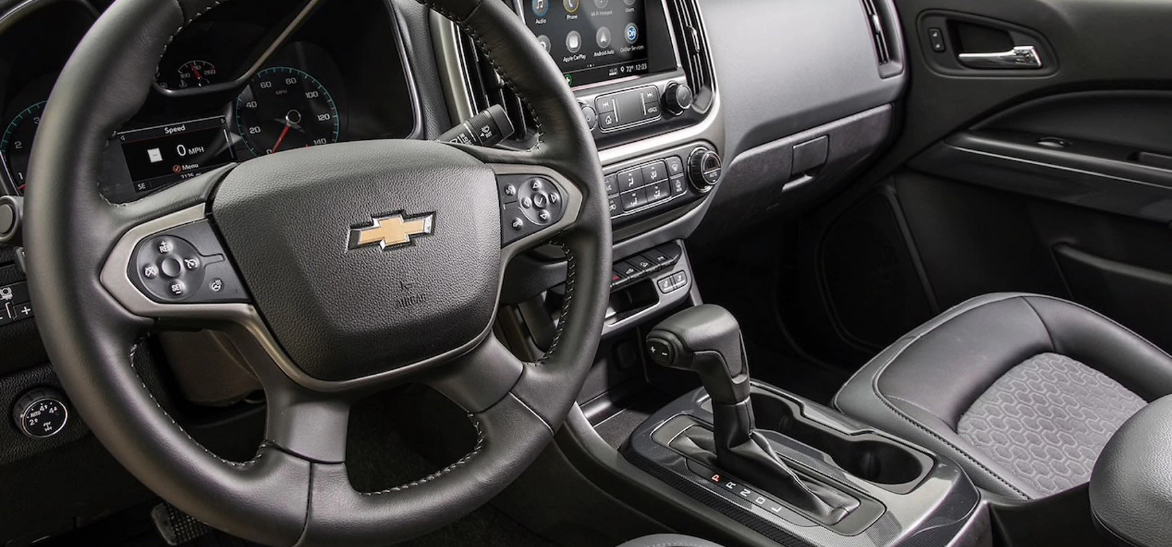Interior of the 2020 Colorado