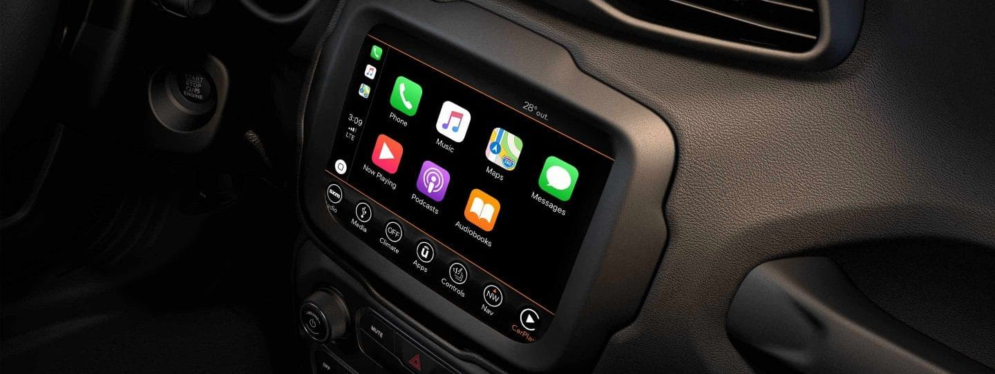 Touchscreen Display in the 2019 Renegade