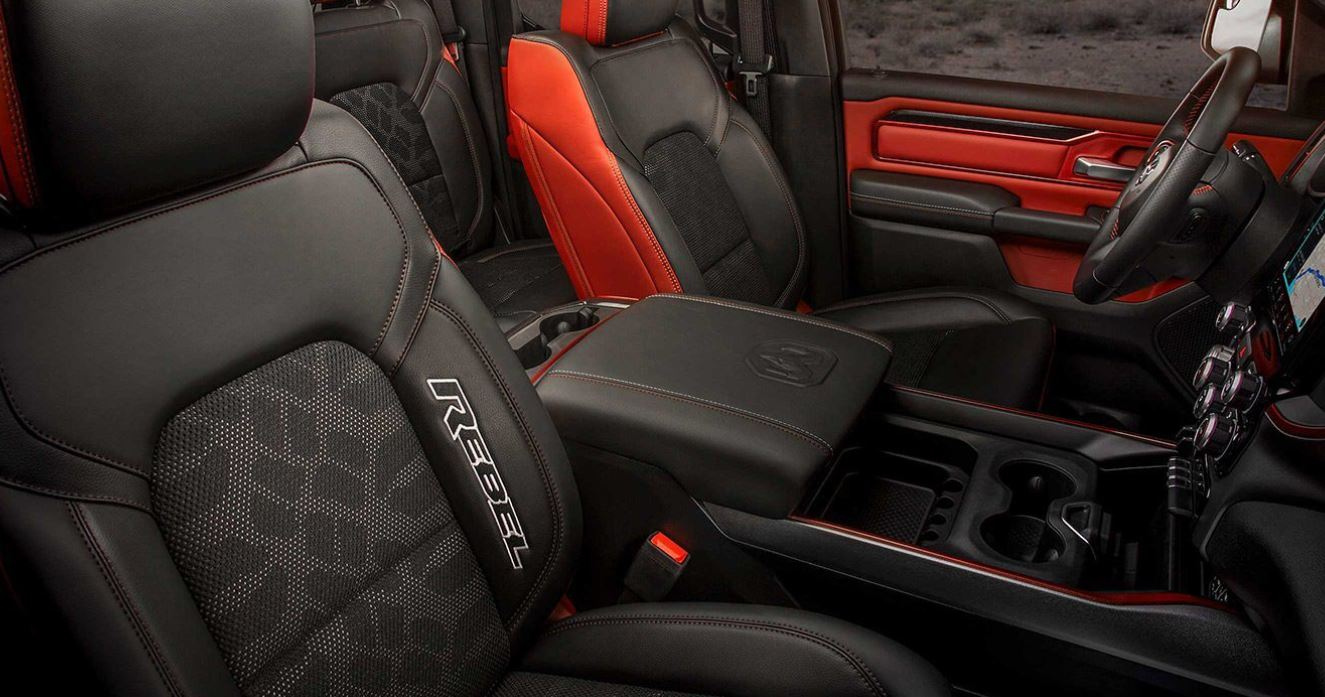 Sporty Seats in the 2019 Ram 1500