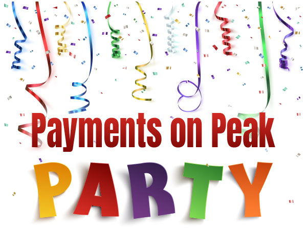 Payments On Peak