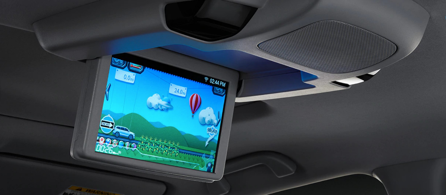 Rear Entertainment System in the 2020 Pilot