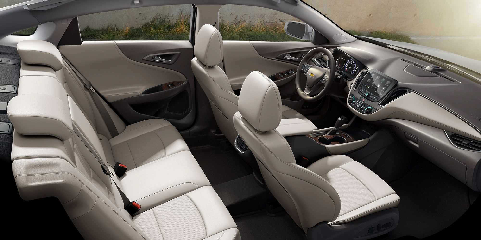 2019 Chevrolet Malibu Cabin