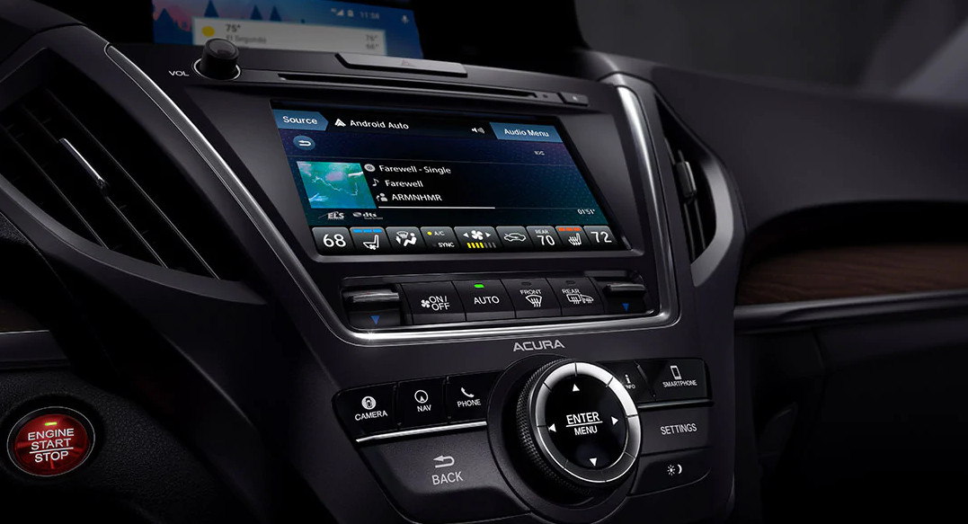 Technology in the 2020 Acura MDX