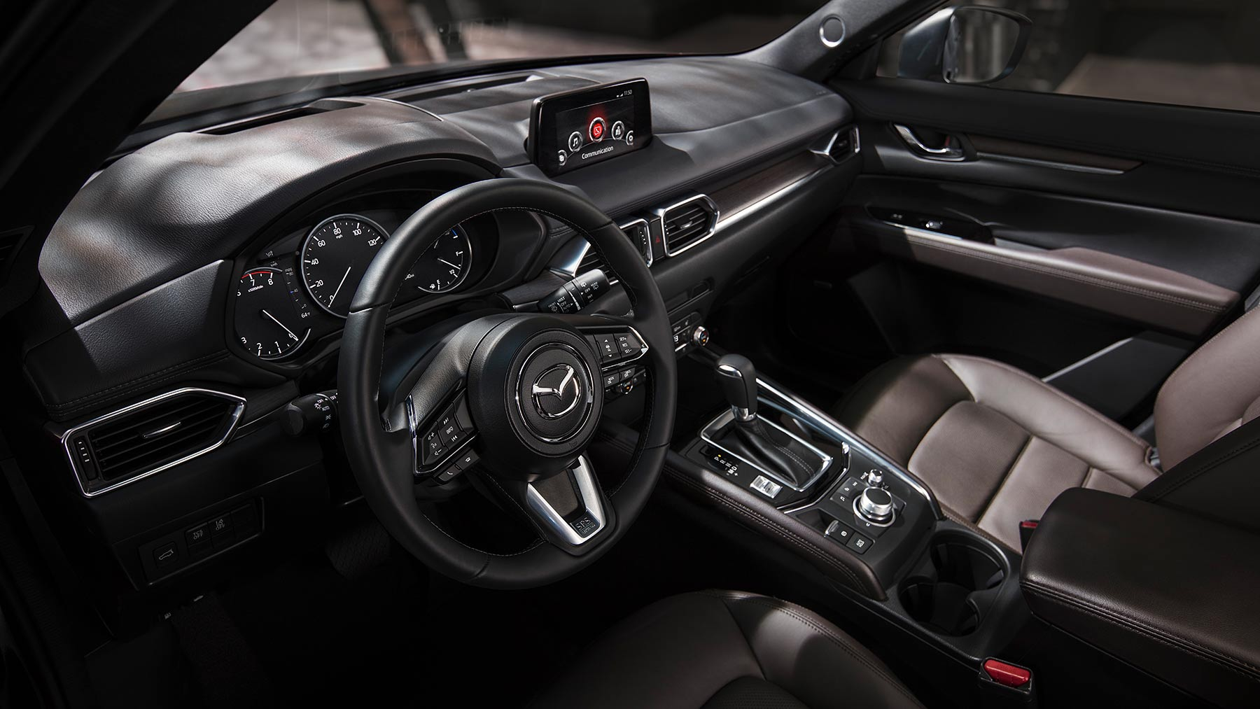 2019 Mazda CX-5 Front Seats and Center Console