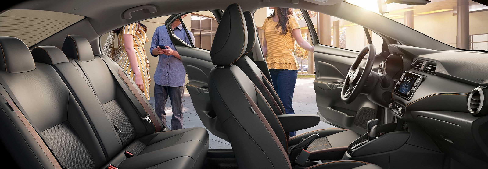 Refined Cabin of the 2020 Nissan Versa