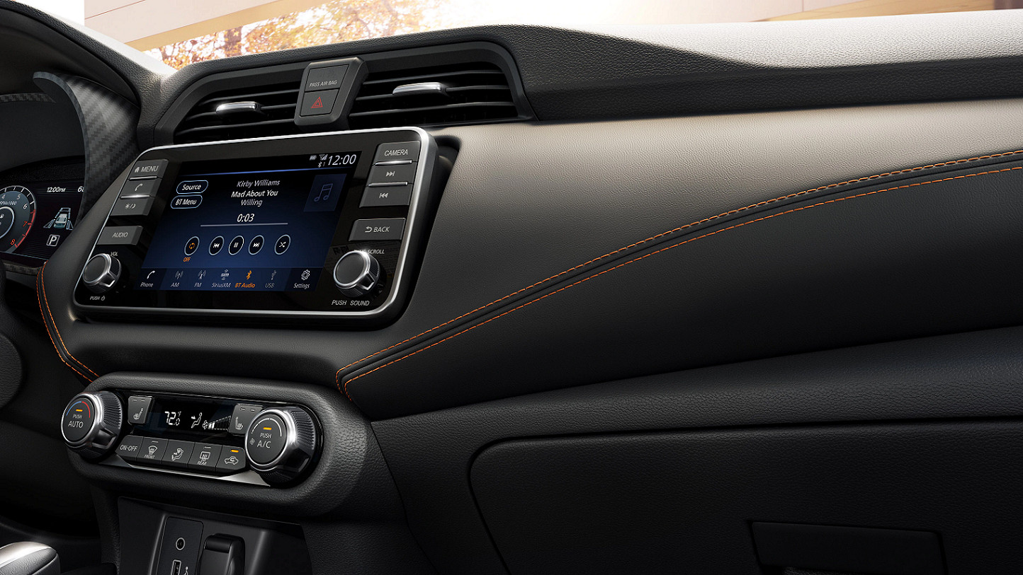 Stylish Accents Inside the 2020 Nissan Versa