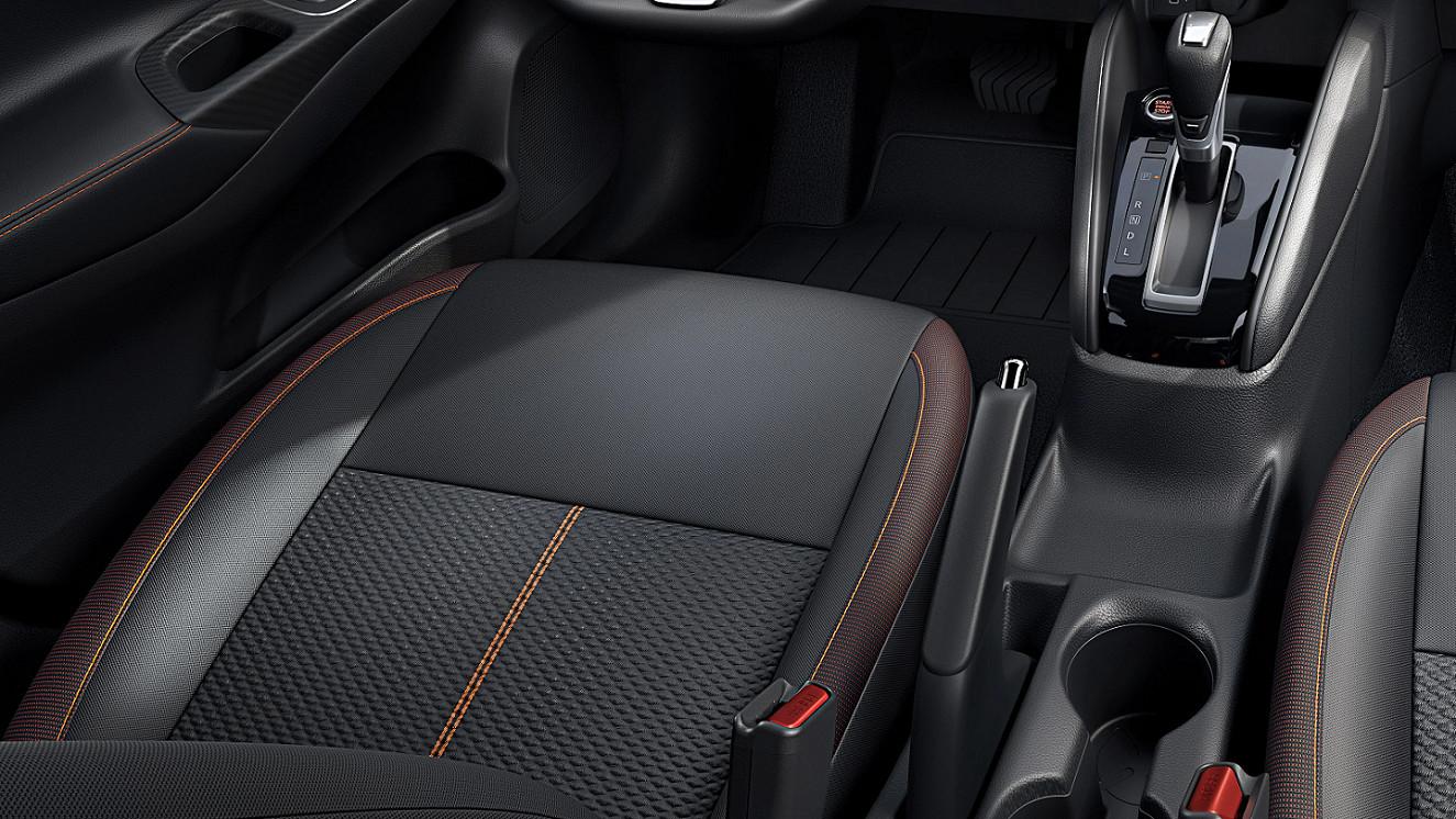 Premium Seating in the 2020 Nissan Versa