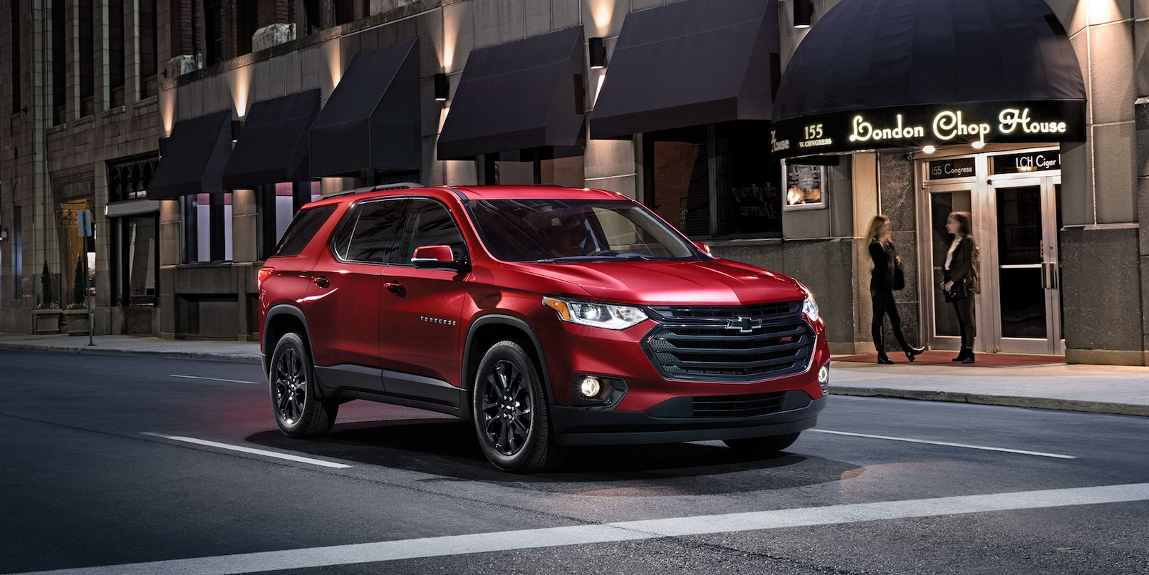 2020 Chevrolet Traverse Key Features near San Marcos, CA