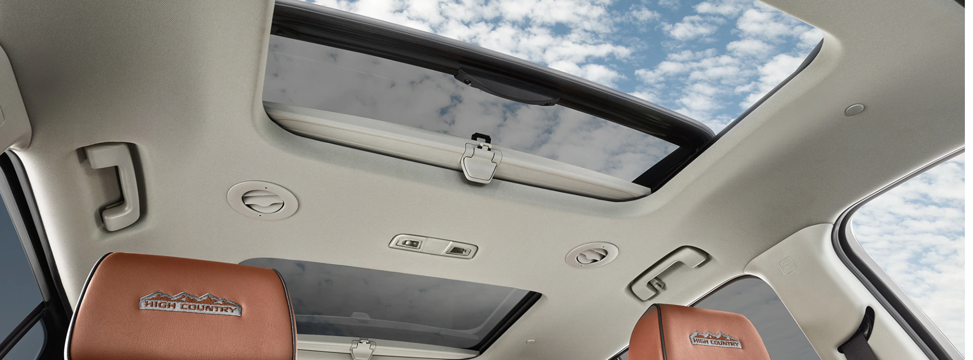Sunroof in the 2020 Traverse