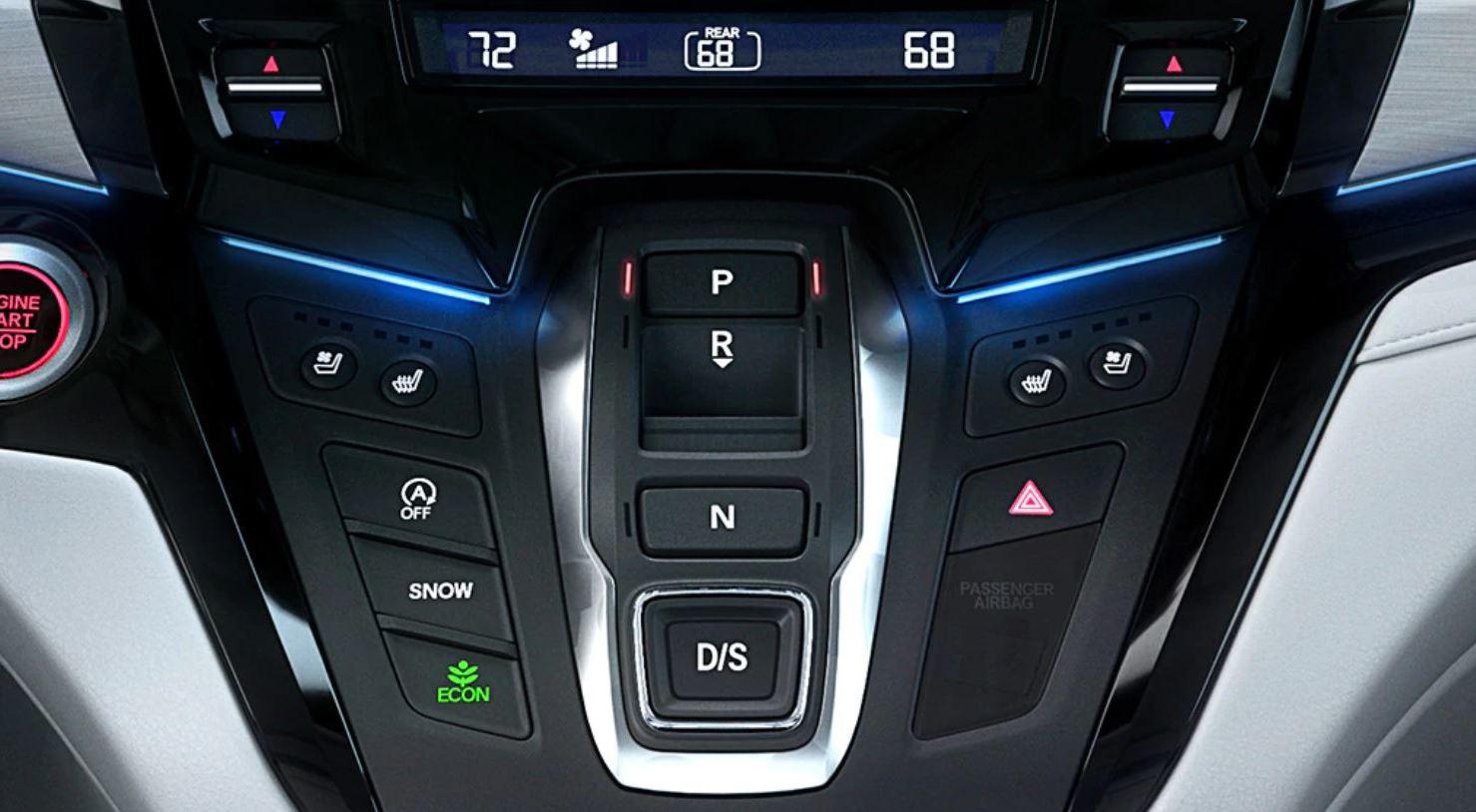 2020 Honda Odyssey Center Stack