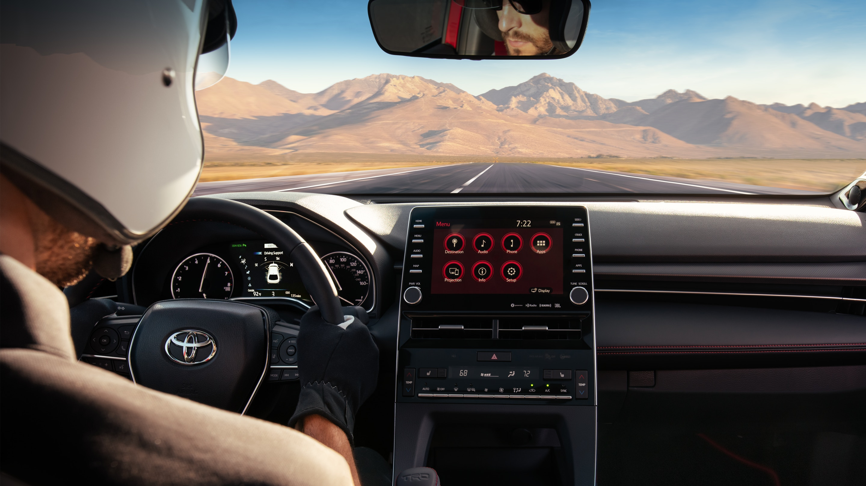 2020 Toyota Avalon Center Stack