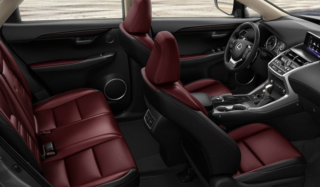 Luxurious Seating in the 2020 Lexus NX 300