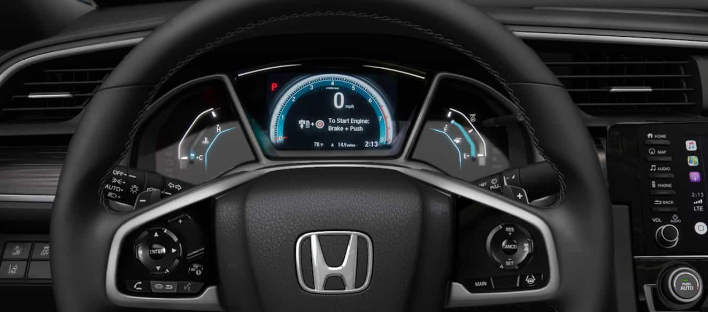 2019 Honda Civic Steering Wheel