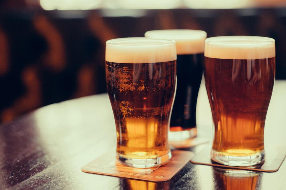 Beers at New Overpfalz Brewing