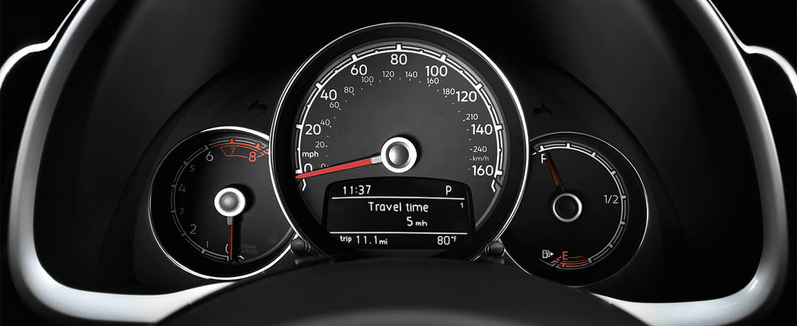 Instrument Panel in the 2019 Beetle