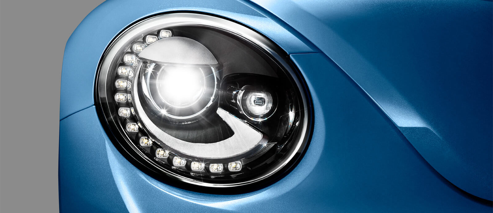 Available Bi-Xenon Headlamps of the 2019 Beetle