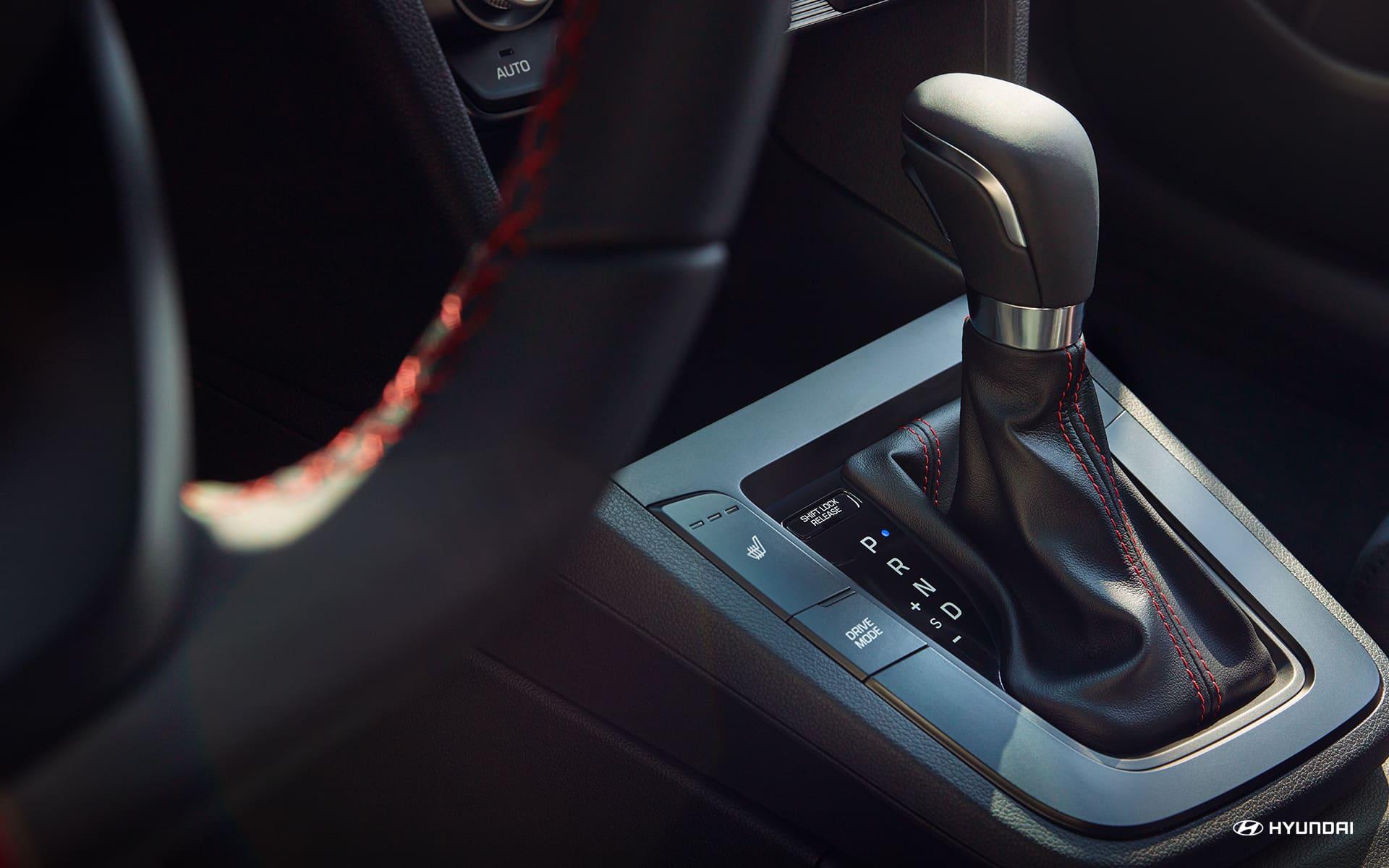 Gear Shift in the 2020 Hyundai Elantra
