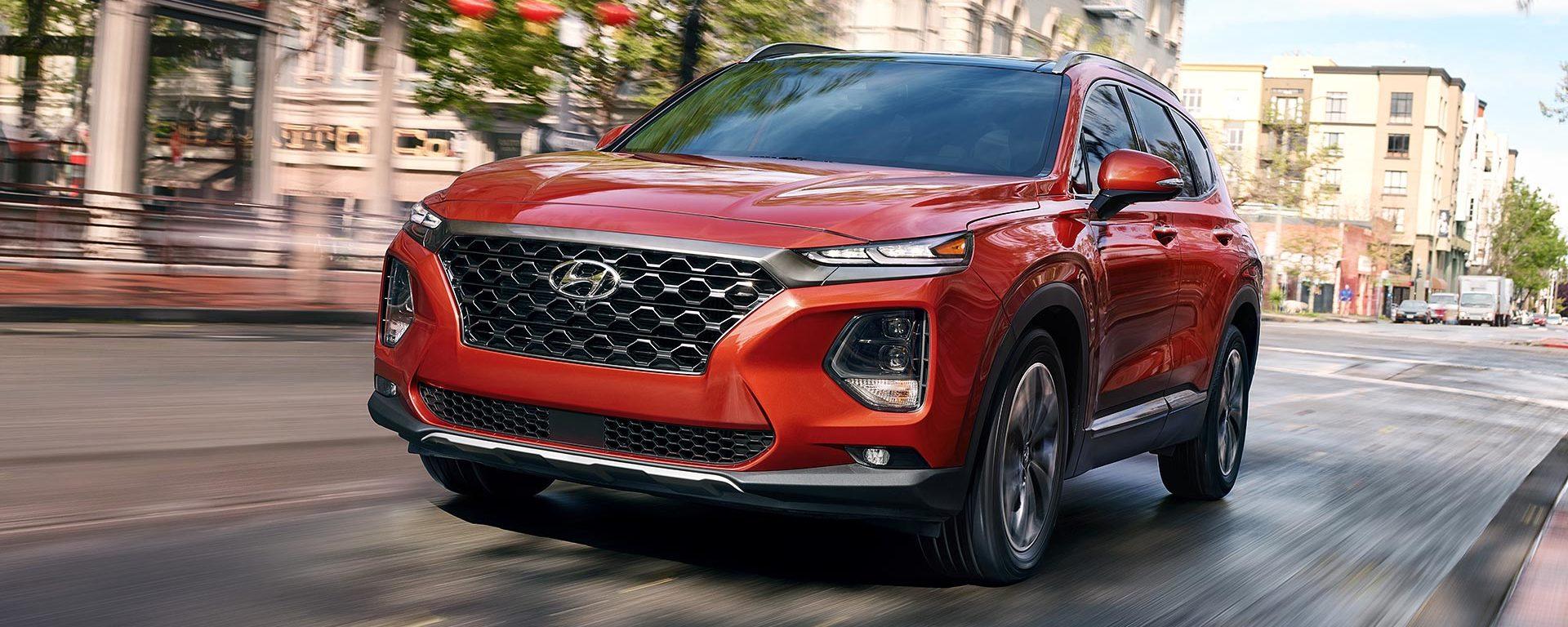 2020 Hyundai Santa Fe Leasing near Manassas, VA