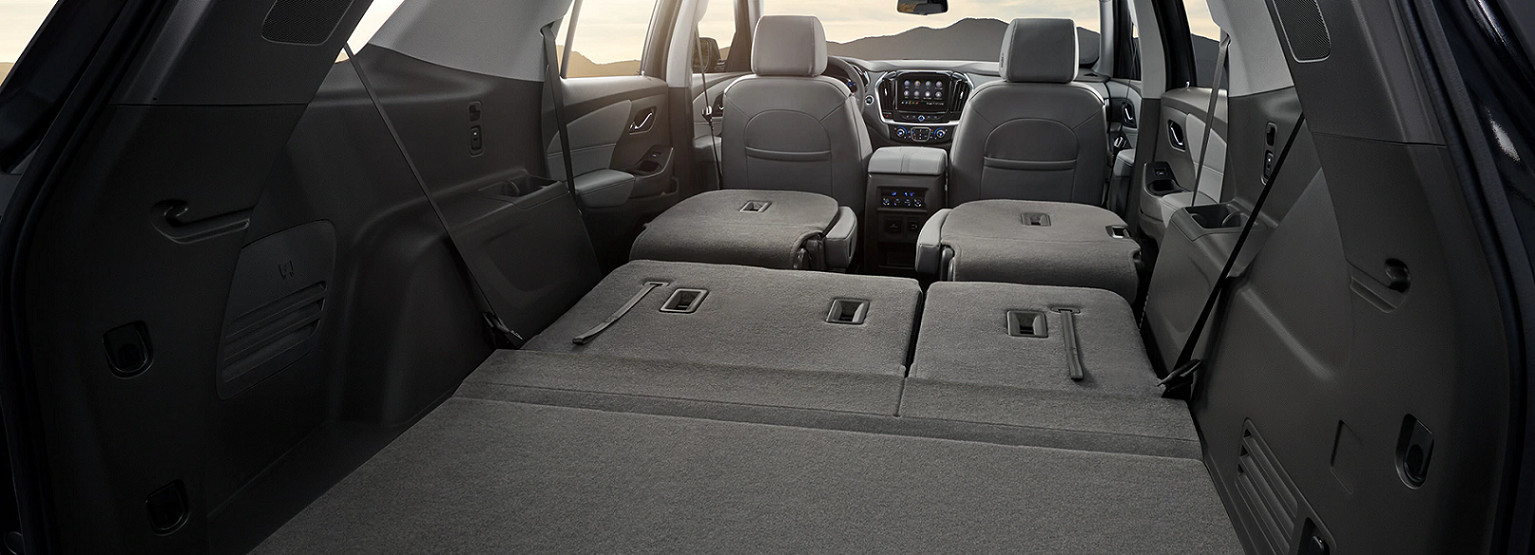 Cavernous Cabin of the 2020 Traverse