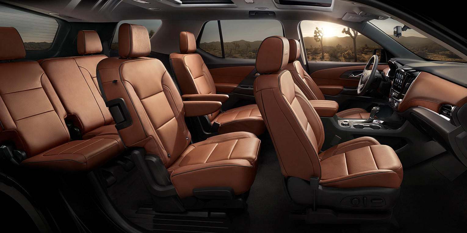 Premier Seating in the 2020 Chevrolet Traverse