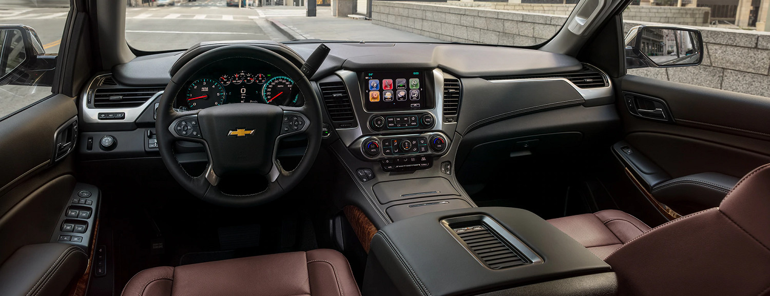 Plethora of Amenities in the 2020 Chevy Suburban
