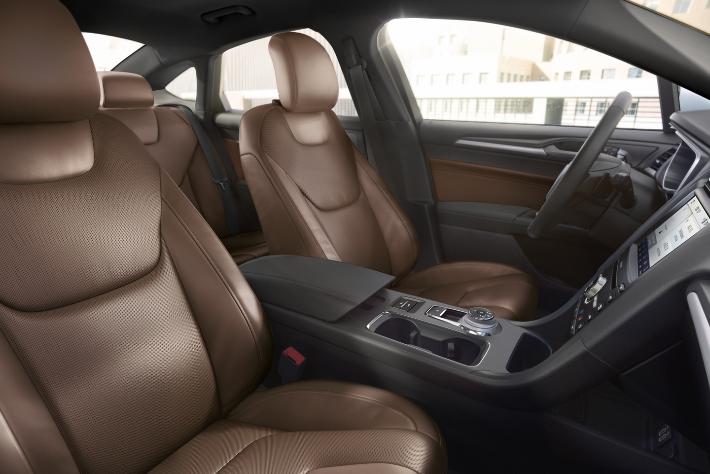 2020 Fusion Leather-Trimmed Seats