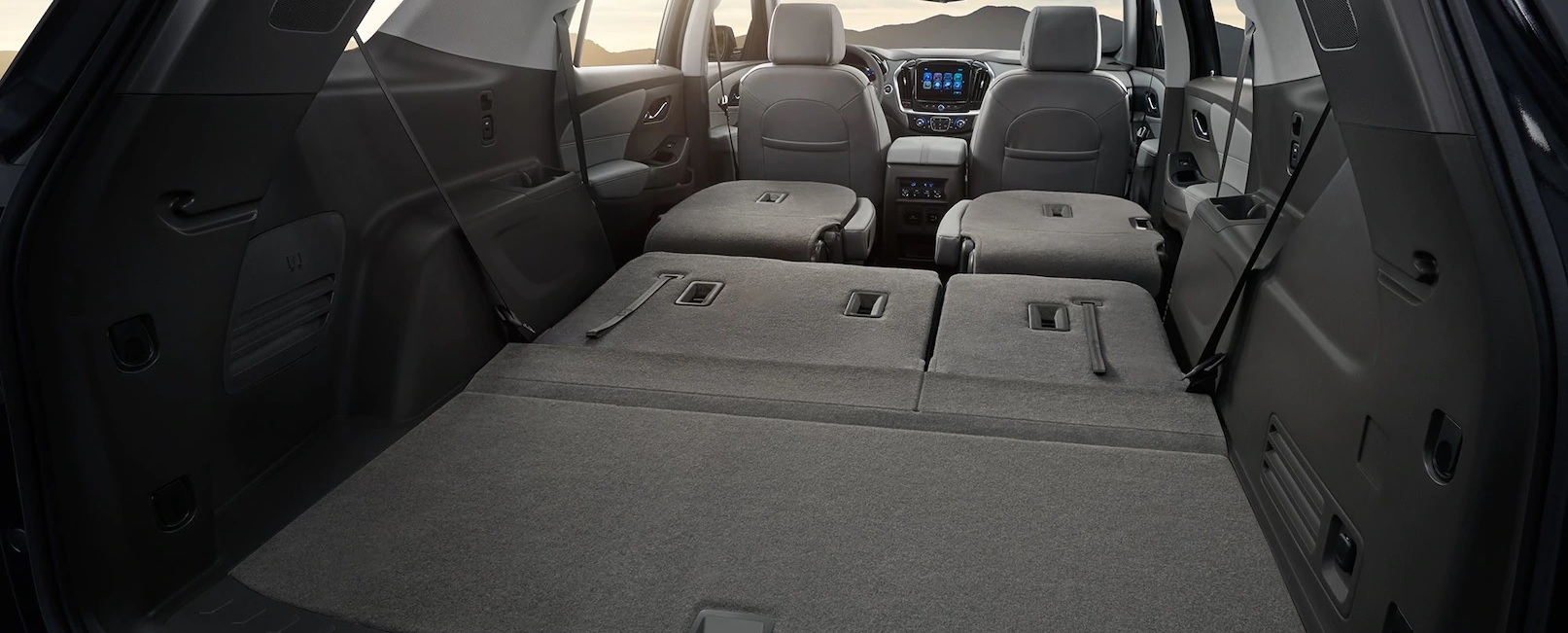 The Cavernous Cargo Area of the 2020 Traverse