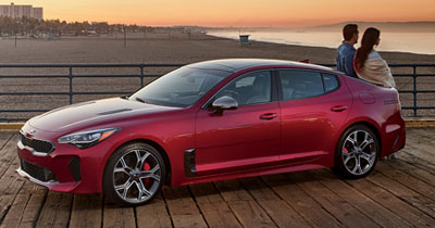 2019 Kia Stinger in Denver for sale or lease at Peak Kia